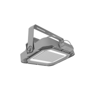 Floodlight T-Serie + sensor 475x180x410mm 200W 4000K