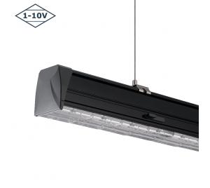 LED LICHTLIJN LUMINAIRE 1500MM ZWART 1-10V