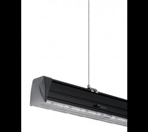 LED Lichtlijn Systeem 160lm/W 1500mm Zwart