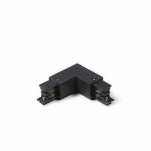 Led Railverlichting - Koppelstuk - L-vorm Binnen - Zwart