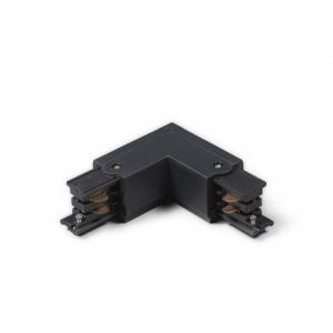 Led Railverlichting - Koppelstuk - L-vorm Buiten - Zwart