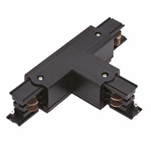 Led Railverlichting - Koppelstuk - T-vorm Links 1 - Zwart