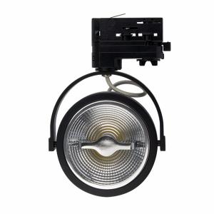 Led Railspot - Dimbaar - AR111 - 3-Fase - 15 Watt - Zwart