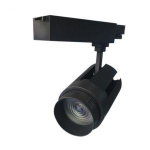 Led Railspot - Verstelbare Lens - 3-Fase - 35 Watt - Zwart