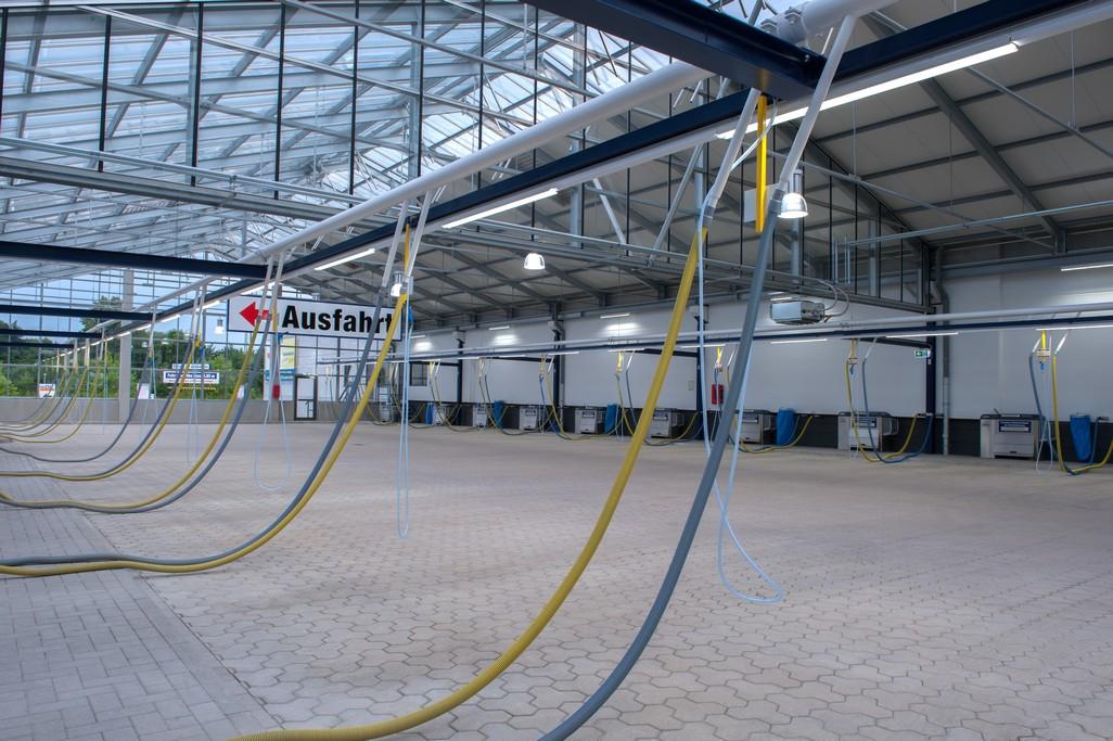 Verlichting Voor Garage : Parkeergarage verlichting